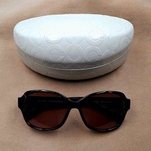 Coach Sunglasses HC8099 (L934 Barbara) Drk Tort